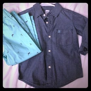 NWT Carter's Matching Outfit